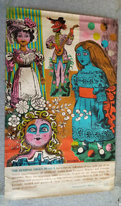 """1964.Laurence Scarfe Poster.The Bethnal Green Museum. 25"""" x 39 1/2"""" ORIGINAL"""