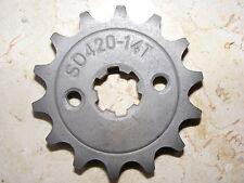 Ritzel 14 Zähne 420 Kette für 110ccm China Quad  / ATV --NEU--