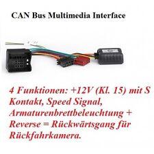 SKODA FABIA,OCTAVIA RTA 032.525-0 CAN-Bus Adaptador Coche Radio adaptador canbus