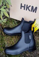 HKM 8388 Jodhpurgummistiefel -economic- mit Elastikeinsatz schwarz 41