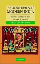 A Concise History of Modern India Cambridge Concise Histories