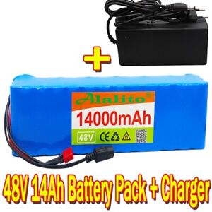 48v 14Ah 1000w 13S3P Lithium ion Battery Pack For 54.6v E-bike Electric bicycle
