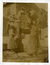 Italia, Costumi - Wilhem von Gloeden vintage albumen print Tirage albuminé