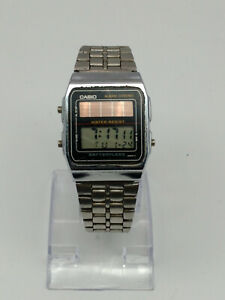 chronograph  solar digital CASIO 2166 watch AL-180