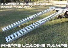 4 Metre Folding Loading Ramps