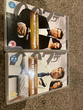 2 x James Bond PSP UMDs Spy Who Loved Me & World Is Not Enough 007