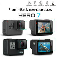 Black Camera Accessories Lens&Screen Protector Protective Film For Gopro Hero 7