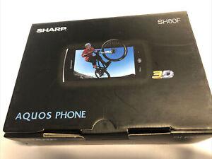 BRAND NEW Sharp SH80F Aquos Phone - Unlocked - UK - 🇬🇧