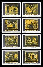 UNTAMED YOUTH * CineMasterpieces MOVIE POSTER LOBBY CARDS 1957 MAMIE VAN DOREN