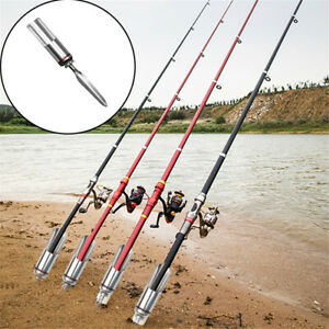 Fishing Rod Stand Support Bracket Ground Holder Adjustable Pole Fish Tools UK