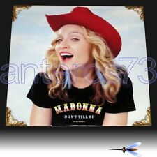 "MADONNA ""DON'T TELL ME"" RARE 12"" MADE IN GERMANY 2000 - MINT"