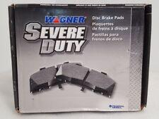 Disc Brake Pad Set-SevereDuty Disc Brake Pad Rear,Front Wagner SX734