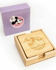 Disney Ap 2019 Food and Wine Minnie Mouse Coasters Authentic Unopened Box