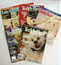 Lot of 6 Teddy Bear & Friends magazines - various years