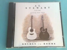 AL STEWART (feat. PETER WHITE) - LIVE RHYMES IN ROOMS - RARISSIMO CD (MINT)