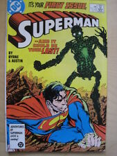 SUPERMAN  # 1. NEW LAUNCH. By JOHN BYRNE, TERRY AUSTIN etc. DC.1987