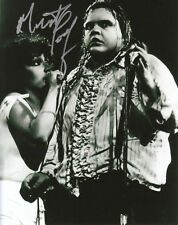 MEAT LOAF SIGNED IN PERSON 8X10 PHOTO BAT OUT OF HELL