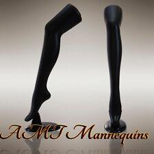 Female Mannequin Legs To Display Stockings Thigh Highs Socks 1 Black Legs