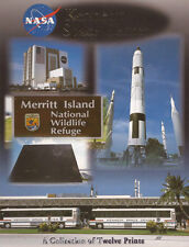 Postcard Set: Kennedy Space Center Attractions (12 Cards/Prints) (2004) (New)