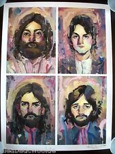 The Beatles John Lennon Paul McCartney George Ringo Art Print Poster Let it Be