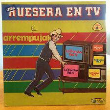 EXC ARREMPUJALO Huesera En TV La Tromba Vol 4 1986 LATIN STEREO LP COLOMBIA