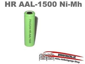 Akku Batterie AA 1.2V1500mAh HR-1500AAL und viel mehr...