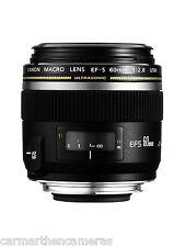 Canon EF-S 60mm f/2.8 USM Macro Lens