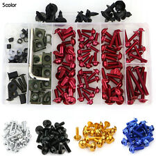 Yamaha FZ1 FAZER 2001-2013 CNC Fairing Bolt Kit Bodywork Screws Fasteners Red