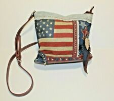 Montana West Concealed Hand Gun Purse Tote Patriotic American Flag USA CCW