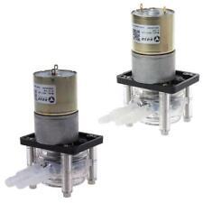DC 12/24V Peristaltic Pump Large Flow Dosing Pump Vacuum Aquarium Lab Analytical