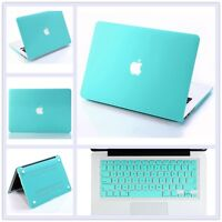 "Turquoise Rubberized Matte Hard Case Cover Skin for MacBook Air PRO 11"" 13"" 15"""