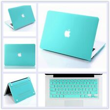 Tiffany Blue Matt Hard Case Shell + Keyboard Cover for Macbook Pro Retina 13.3""