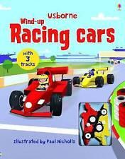 Usborne -  Wind-Up Racing Cars Book
