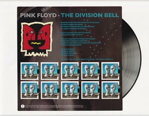 GB 2010 - Pink Floyd's The Division Bell Mini Sheet - SG-MS3019 - MNH