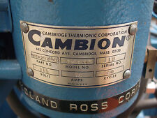 CAMBION SWAGING MACHINE PIN SETTER 3805-03