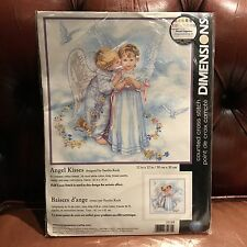 Dimensions Angel Kisses Cross Stitch Kit Dimensions 30x30cm
