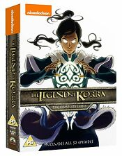 LEGEND OF KORRA Complete Series Book 1 2 3 4 Avatar Airbender 52 eps NEW DVD R4