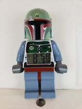 LEGO Star Wars Boba Fett Digital Alarm Clock Movable Arms Legs Screen Lights up