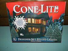Christmas Lights 150 Net Styled Lights Cone-Lite