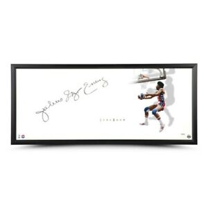 "Julius Erving Signed Autographed 20X46 Photo Framed The Show ""Julius"" ABA UDA"