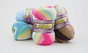 100g Cicibebe Crazy Color ! mit tollem Farbverlauf ! NEU (Grundpreis 2,99€/100g)