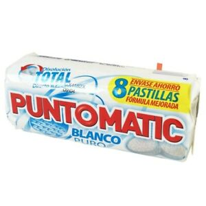 Puntomatic Compact Tablets Laundry Detergent, for white clothes