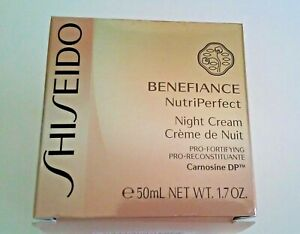 Shiseido. Benefiace. NutriPerfect Night Cream - 50 ml.
