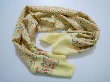 CULT VINTAGE '60 Bufanda Hombre Mujer Seda Pañuelo seda Unisex bufanda