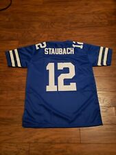 New listing #12 Roger Staubach Dallas Cowboys Throwback Mens Jersey Size Medium NWT