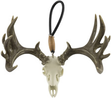 New Big Rack Deer Skull Antlers Decorative Ornament For Auto Car Free Shipping