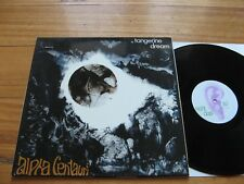 TANGERINE DREAM - Alpha Centauri - EX+ VINYL - GERMAN 1971 OHR LABEL PRESS