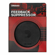 More details for acoustic guitar sound hole cover by d'addario 'screeching halt pw sh 01