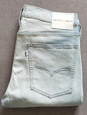 Calcetines para vaqueros levis LEVI's line 8 Skinny 29924-0000 barely There Blue w32 l32