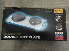 Delta Kitchen Stainless Steel Double Hot Plate